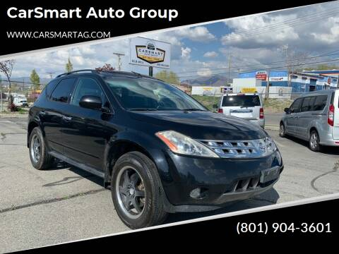 2003 Nissan Murano for sale at CarSmart Auto Group in Murray UT