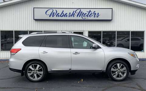 2014 Nissan Pathfinder for sale at Wabash Motors in Terre Haute IN