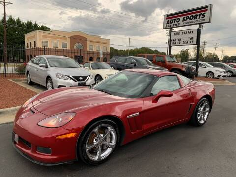 2013 Chevrolet Corvette for sale at Auto Sports in Hickory NC