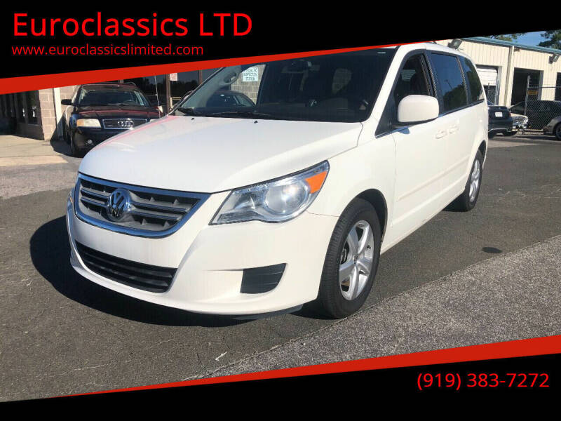 2011 Volkswagen Routan for sale at Euroclassics LTD in Durham NC