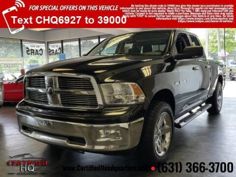 2011 RAM Ram Pickup 1500 for sale at CERTIFIED HEADQUARTERS in Saint James NY