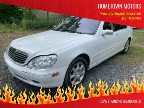 2000 Mercedes-Benz S-Class for sale at Hometown Motors in Maumelle AR
