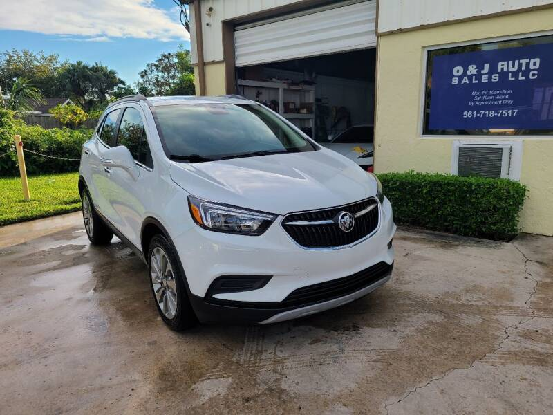 2017 Buick Encore for sale at O & J Auto Sales in Royal Palm Beach FL