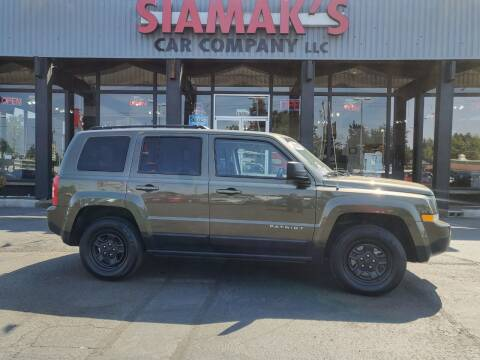 2015 Jeep Patriot for sale at Siamak's Car Company llc in Salem OR
