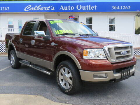 2005 Ford F-150 for sale at Colbert's Auto Outlet in Hickory NC