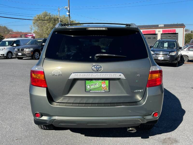 2008 Toyota Highlander AWD Limited 4dr SUV - Harrisonburg VA