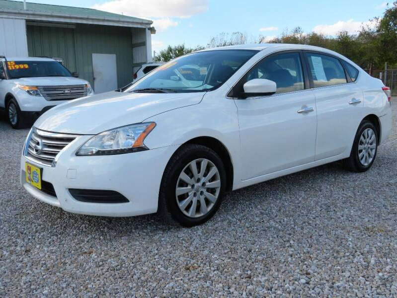 2014 Nissan Sentra for sale at Low Cost Cars in Circleville OH