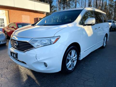 2014 Nissan Quest for sale at Magic Motors Inc. in Snellville GA