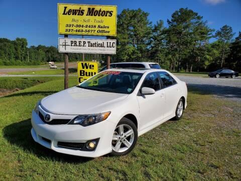 2014 Toyota Camry for sale at Lewis Motors LLC in Deridder LA