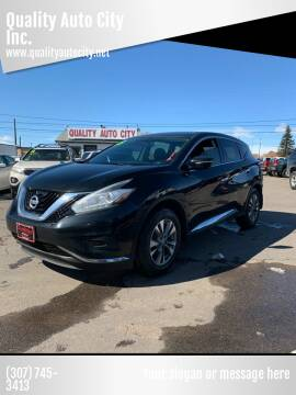 2015 Nissan Murano for sale at Quality Auto City Inc. in Laramie WY