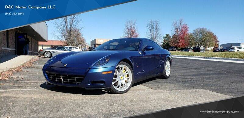 2006 Ferrari 612 Scaglietti for sale at D&C Motor Company LLC in Merriam KS