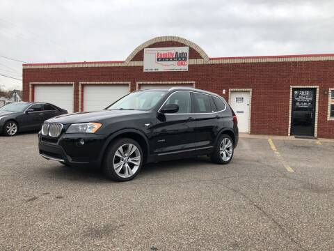 2011 BMW X3 for sale at Family Auto Finance OKC LLC in Oklahoma City OK