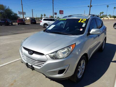 2012 Hyundai Tucson for sale at Century Auto Sales in Apache Junction AZ