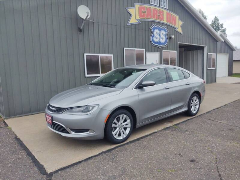 2015 Chrysler 200 for sale at CARS ON SS in Rice Lake WI