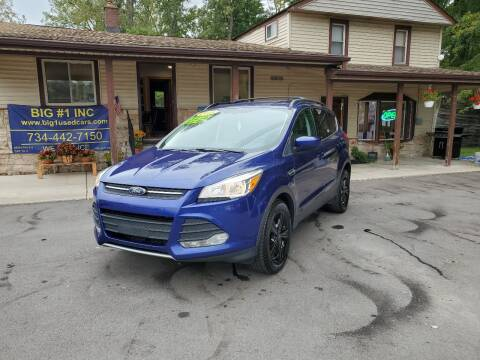 2013 Ford Escape for sale at BIG #1 INC in Brownstown MI