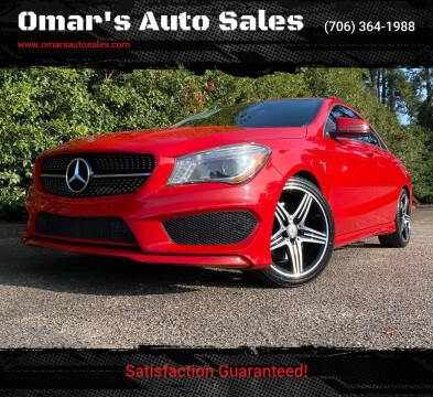 2015 Mercedes-Benz CLA for sale at Omar's Auto Sales in Martinez GA