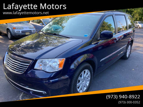 2014 Chrysler Town and Country for sale at Lafayette Motors in Lafayette NJ