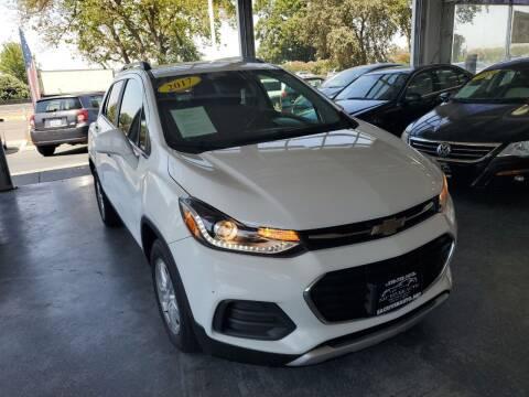 2017 Chevrolet Trax for sale at Sac River Auto in Davis CA