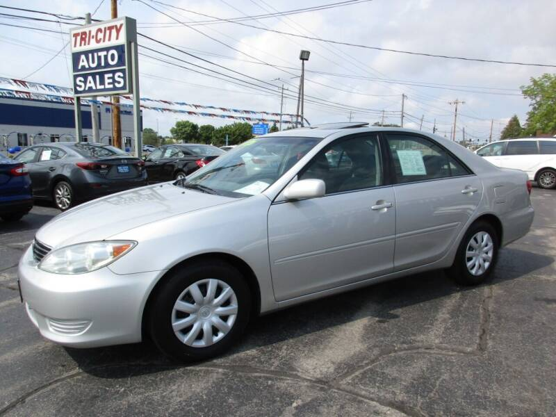 2005 Toyota Camry for sale at TRI CITY AUTO SALES LLC in Menasha WI