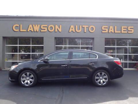 2011 Buick LaCrosse for sale at Clawson Auto Sales in Clawson MI