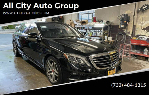 2016 Mercedes-Benz S-Class for sale at All City Auto Group in Staten Island NY