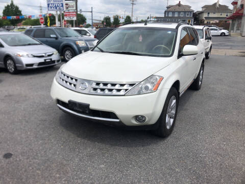 2007 Nissan Murano for sale at 25TH STREET AUTO SALES in Easton PA