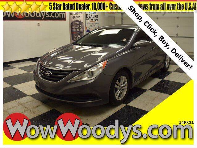 2014 Hyundai Sonata for sale at WOODY'S AUTOMOTIVE GROUP in Chillicothe MO