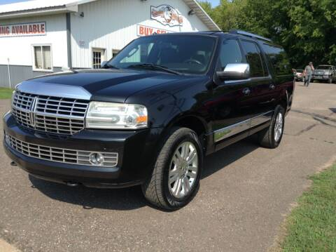 2011 Lincoln Navigator L for sale at Steves Auto Sales in Cambridge MN