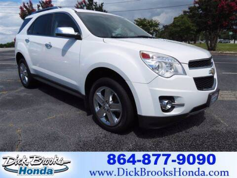 2015 Chevrolet Equinox for sale at DICK BROOKS PRE-OWNED in Lyman SC