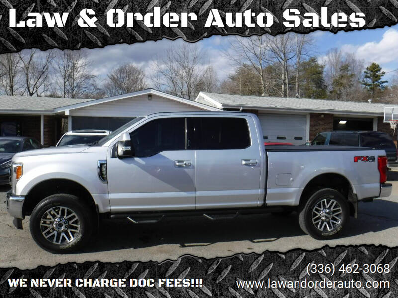 2018 Ford F-250 Super Duty for sale at Law & Order Auto Sales in Pilot Mountain NC