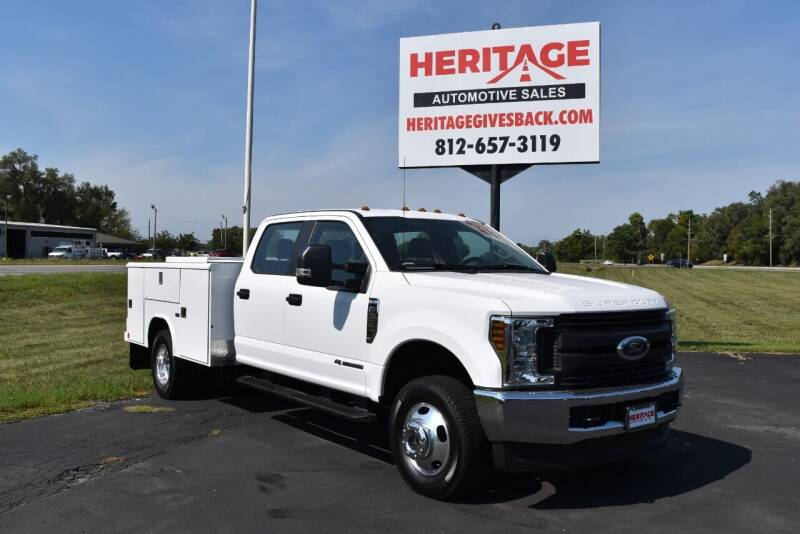2018 Ford F-350 Super Duty for sale at Heritage Automotive Sales in Columbus in Columbus IN