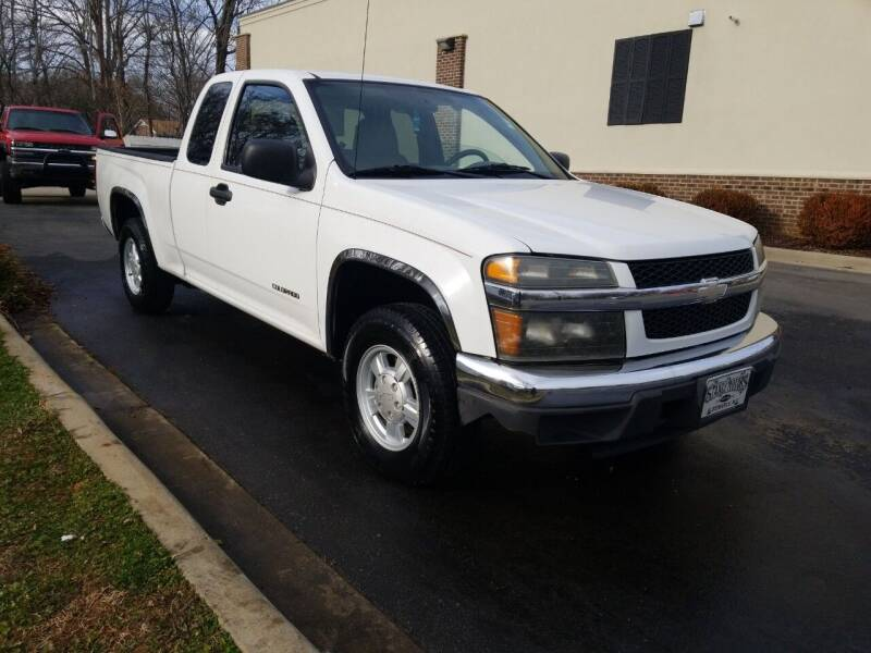 2005 Chevrolet Colorado for sale at TR MOTORS in Gastonia NC
