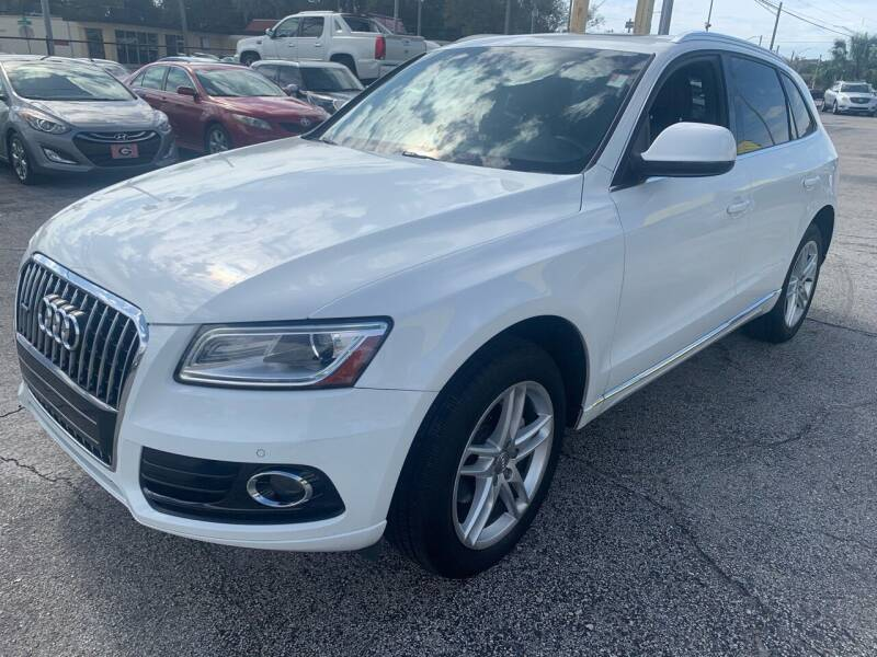 2013 Audi Q5 for sale at Castle Used Cars in Jacksonville FL