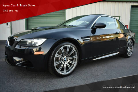 2011 BMW M3 for sale at Apex Car & Truck Sales in Apex NC