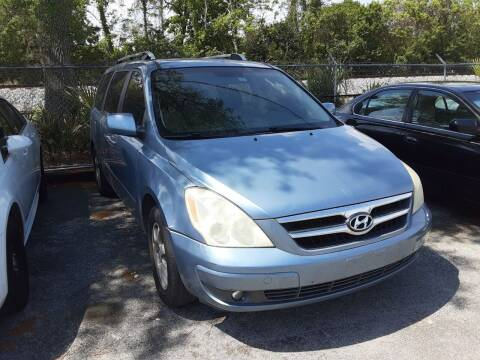 2007 Hyundai Entourage for sale at Easy Credit Auto Sales in Cocoa FL