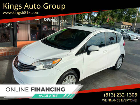2015 Nissan Versa Note for sale at Kings Auto Group in Tampa FL