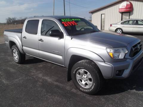2014 Toyota Tacoma for sale at Dietsch Sales & Svc Inc in Edgerton OH