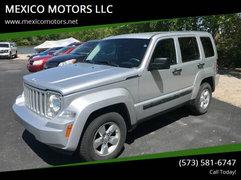 2012 Jeep Liberty for sale at MEXICO MOTORS LLC in Mexico MO