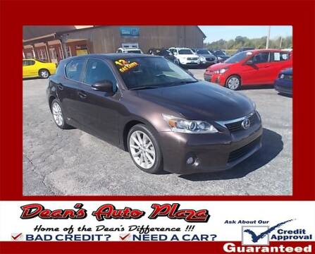 2013 Lexus CT 200h for sale at Dean's Auto Plaza in Hanover PA