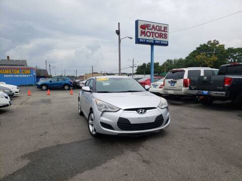2015 Hyundai Veloster for sale at Eagle Motors in Hamilton OH