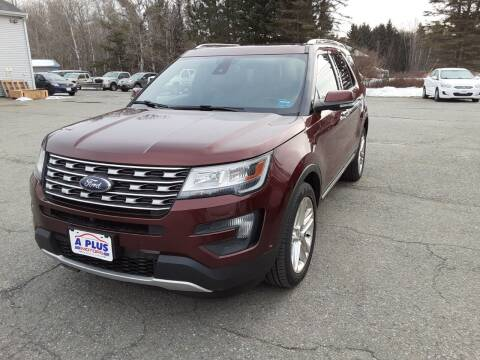 2016 Ford Explorer for sale at A-Plus Motors in Alton ME