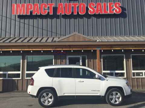2017 Jeep Compass for sale at Impact Auto Sales in Wenatchee WA