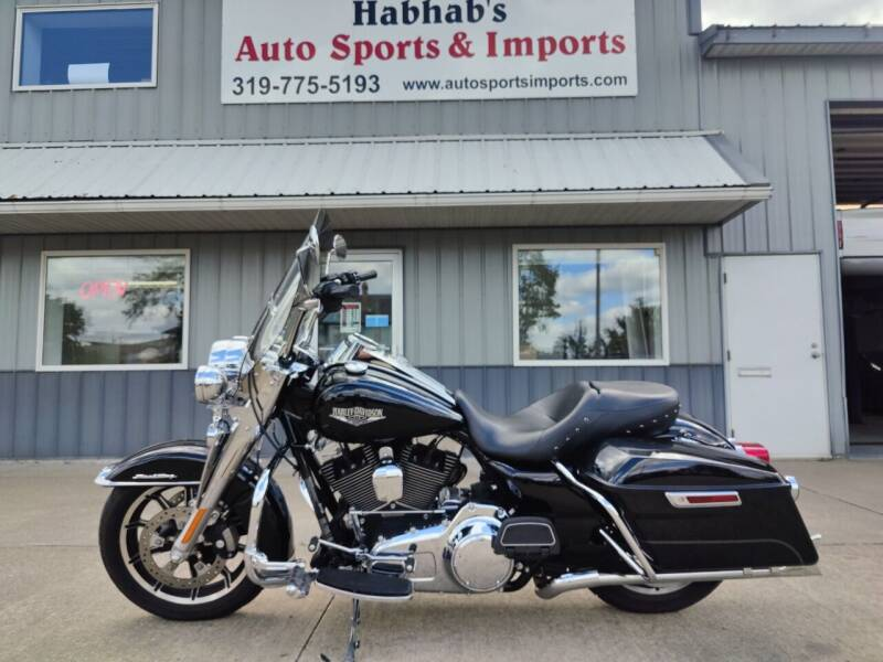 2015 HARLEY-DAV ROAD KING for sale at Habhab's Auto Sports & Imports in Cedar Rapids IA