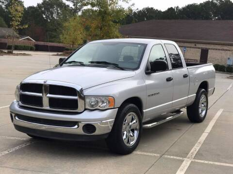 2004 Dodge Ram Pickup 1500 for sale at Two Brothers Auto Sales in Loganville GA