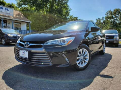 2016 Toyota Camry for sale at Mega Motors in West Bridgewater MA
