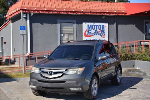 2007 Acura MDX for sale at Motor Car Concepts II - Kirkman Location in Orlando FL