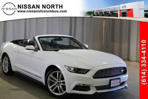 2017 Ford Mustang for sale at Auto Center of Columbus in Columbus OH