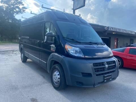 2017 RAM ProMaster Cargo for sale at Texas Luxury Auto in Houston TX