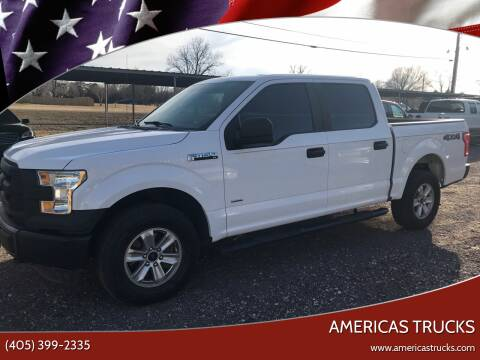 2015 Ford F-150 for sale at Americas Trucks in Jones OK