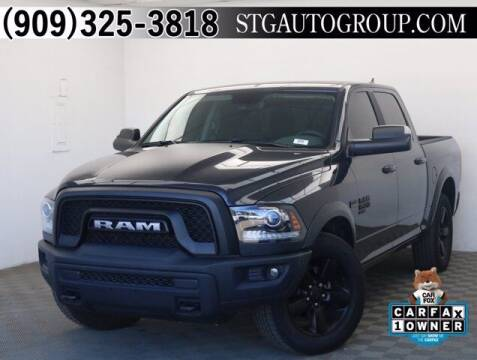 2019 RAM Ram Pickup 1500 Classic for sale at STG Auto Group in Montclair CA